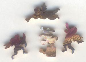 figurals for wooden puzzle